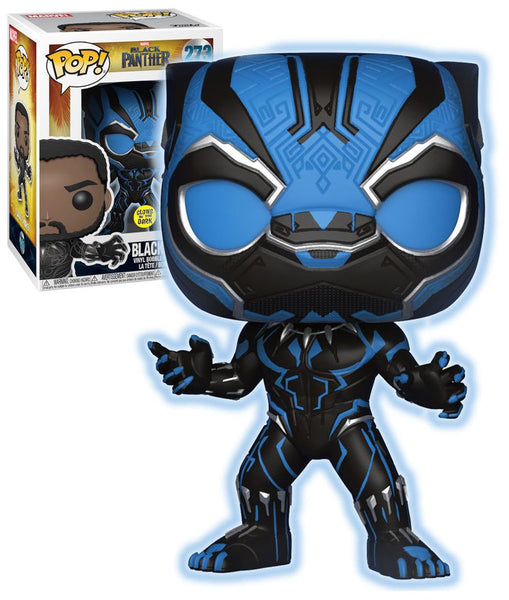 Black Panther Masked (Movie 2018) Exclusive Glow Funko Pop #273