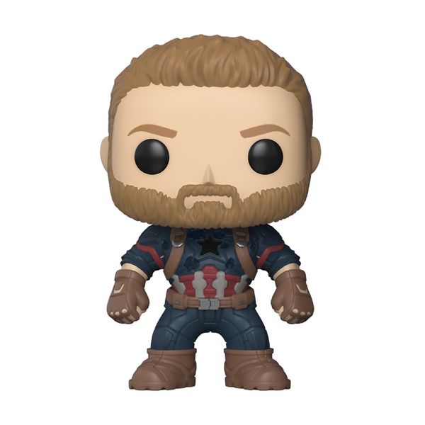 Avengers Infinity War - Captain America Funko Pop Figure #288