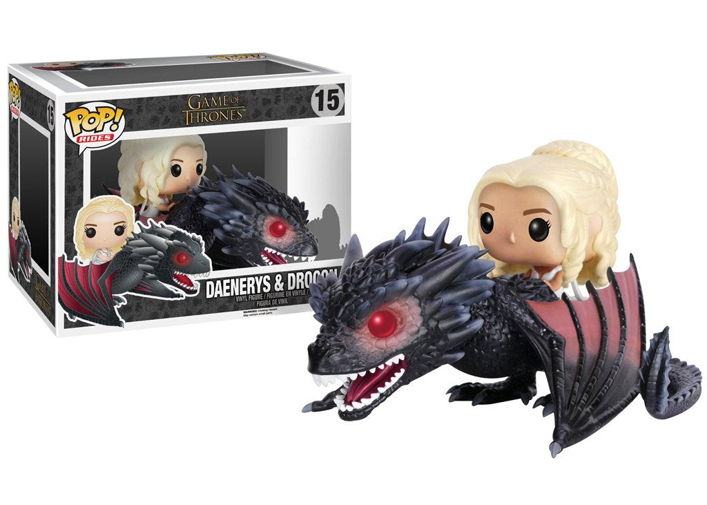 Funko Pop Movie Moments Game of Thrones - Daenerys & Drogon #15