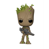 Avengers Infinity War - Groot with Gun Funko Pop Figure #293