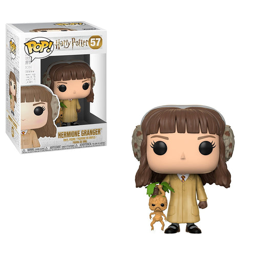 Hermione Granger with Mandrake - Harry Potter Herbology Funko Pop #57
