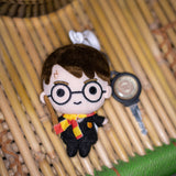 Harry Potter Plush Keychain (with Clip on) - Harry Potter Charms 4