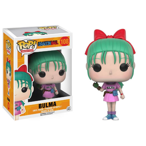 Funko Dragon Ball Z Bulma Pop Anime Vinyl Figure
