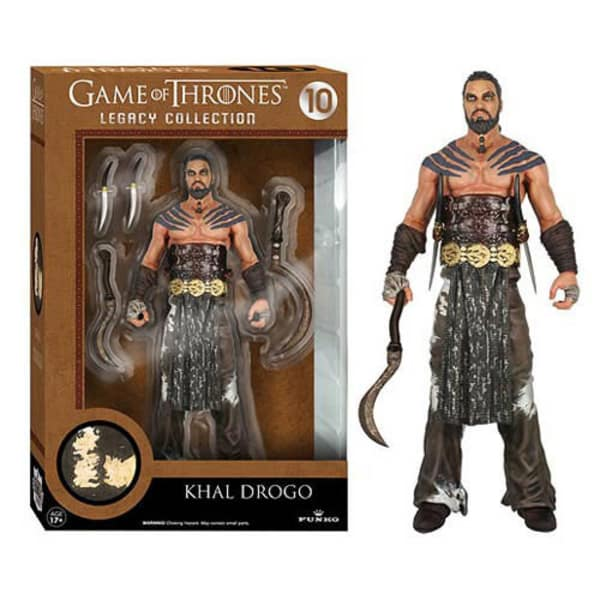 Game of Thrones Khal Drogo 6 inch Legacy Action Figure