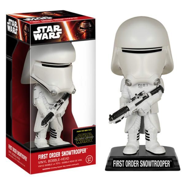 Star Wars: Episode VII - The Force Awakens First Order Snowtrooper Funko Whacky Wobbler
