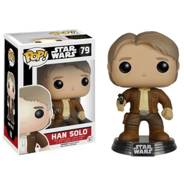 Star Wars: The Force Awakens Han Solo Funko Pop! Vinyl Bobble Head