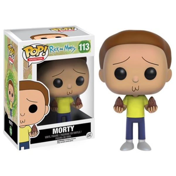 Morty - Rick and Morty Funko Pop #133