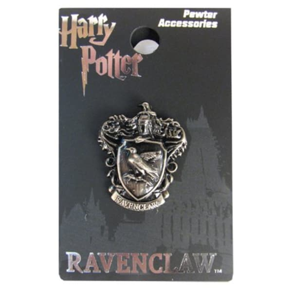 Harry Potter Ravenclaw Crest Pewter Lapel Pin by Monogram