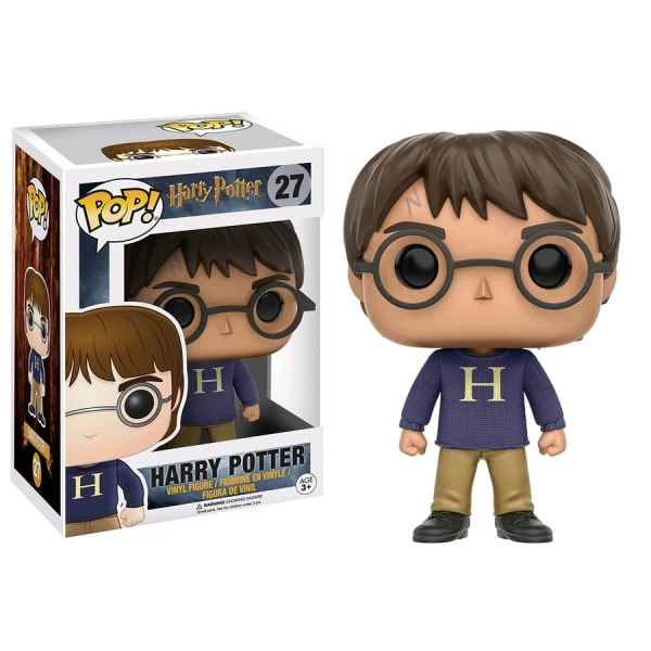 Harry Potter in Sweater Funko Pop US Exclusive Figure