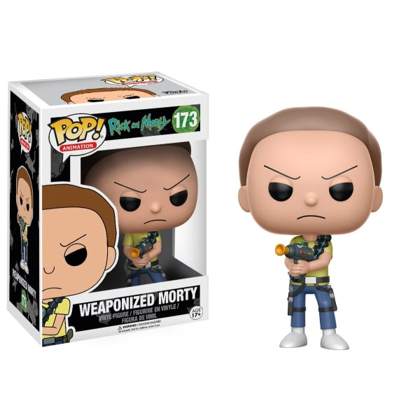 Rick And Morty - Weaponized Morty Pop! Figure