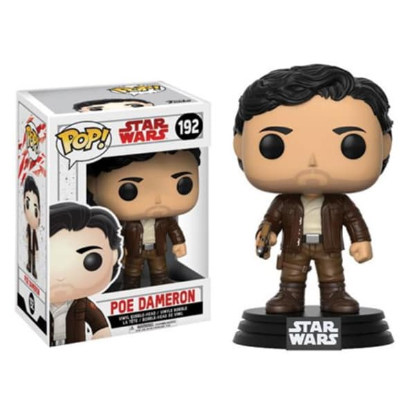 Star Wars: Last Jedi Poe Dameron Pop! Vinyl Bobble Head