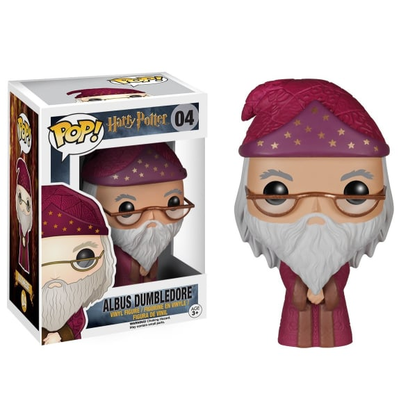 Albus Dumbledore in Robe - Harry Potter Funko Pop Figure #04