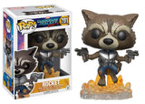 Flying Rocket Raccoon - Marvel Guardians of the Galaxy Funko Pop #201