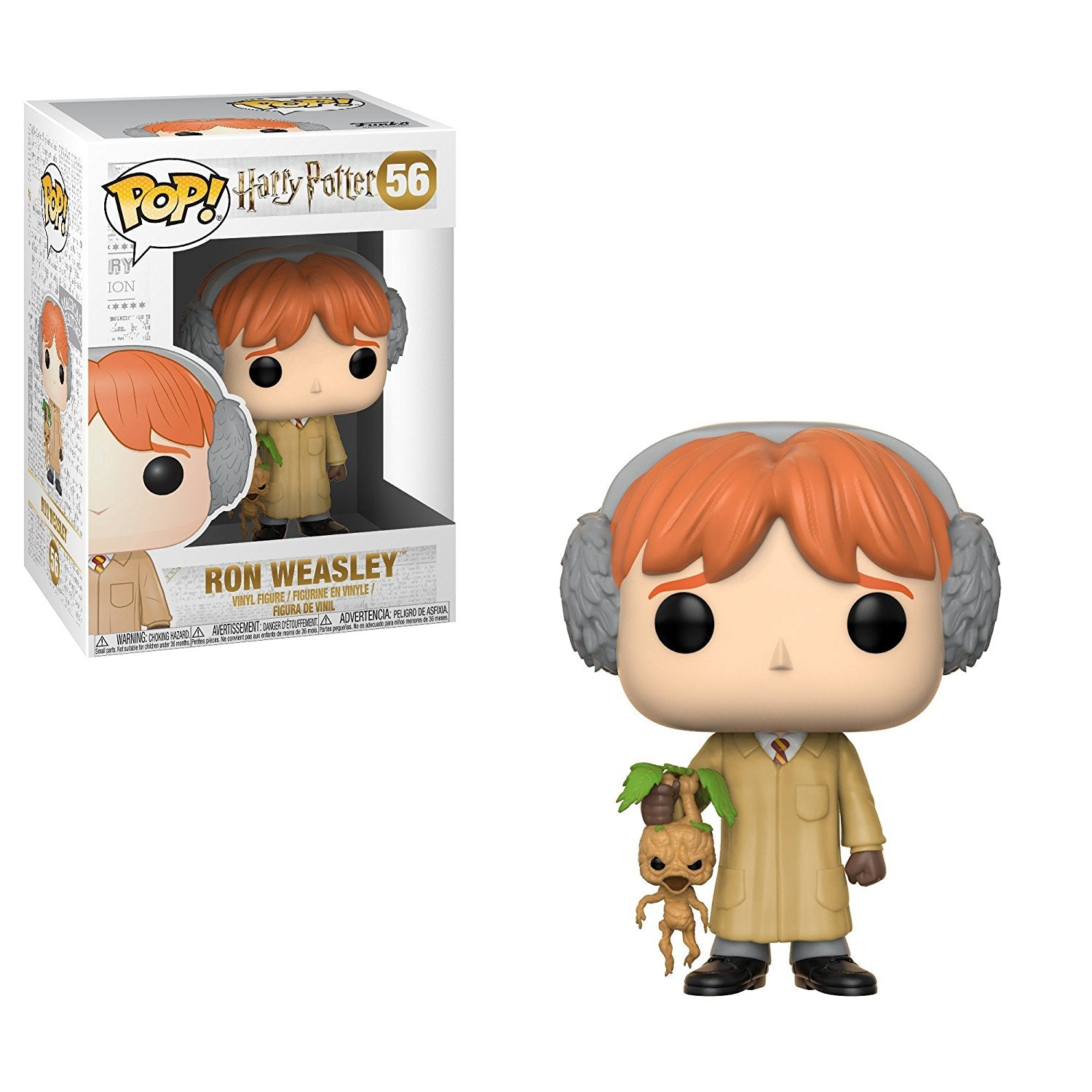 Ron Weasley With Mandrake Harry Potter Herbology Funko Pop 56