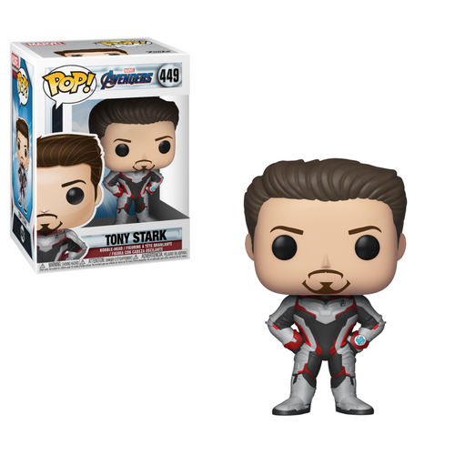 Avengers End Game - Tony Stark in Team Suit Pop Bobblehead Figure - POP 2 [NO BOX]
