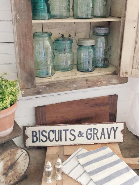 Biscuits & Gravy Sign