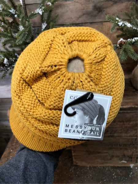Mustard CC Beanie Cap – Rusted Roots 29a8d2dcae8