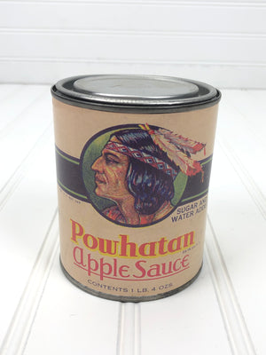 Powhatan Apple Sauce Can