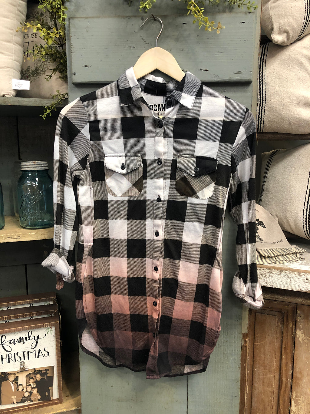 Farmhouse Flannel #1 (Extra Small)