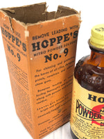 Hoppe's Pharmacy Bottle w/ Box