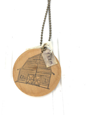 Handmade Farm Necklace