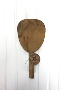 Antique Butter Paddle (F)