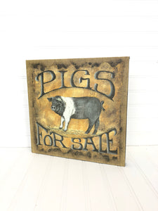 Pigs for Sale Sign