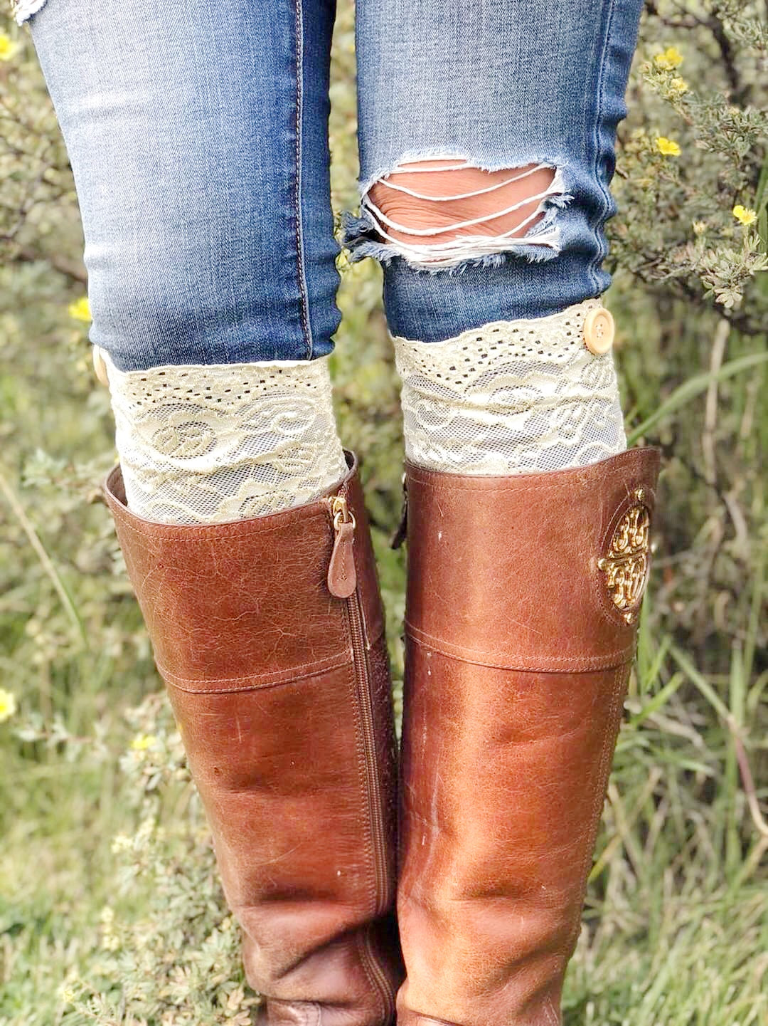 Callie Boot Cuffs
