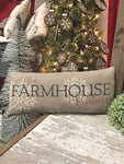 This Farmhouse Believes Pillow