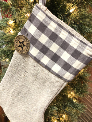 Buffalo Check Stocking