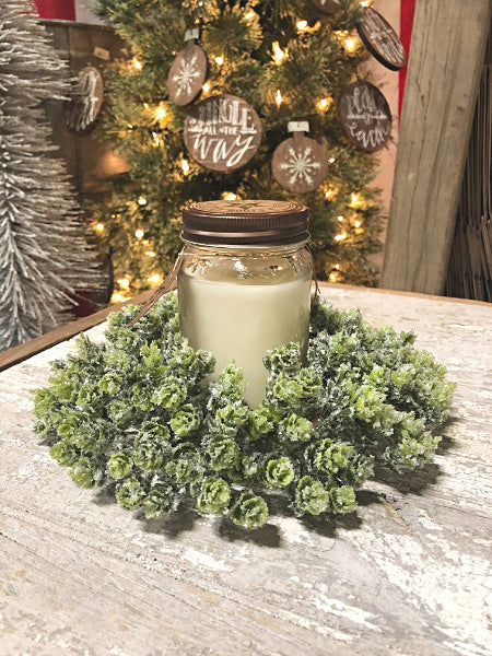 Icy Hops Candle Ring