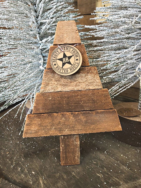 Handmade Tobacco Lathe Christmas Tree