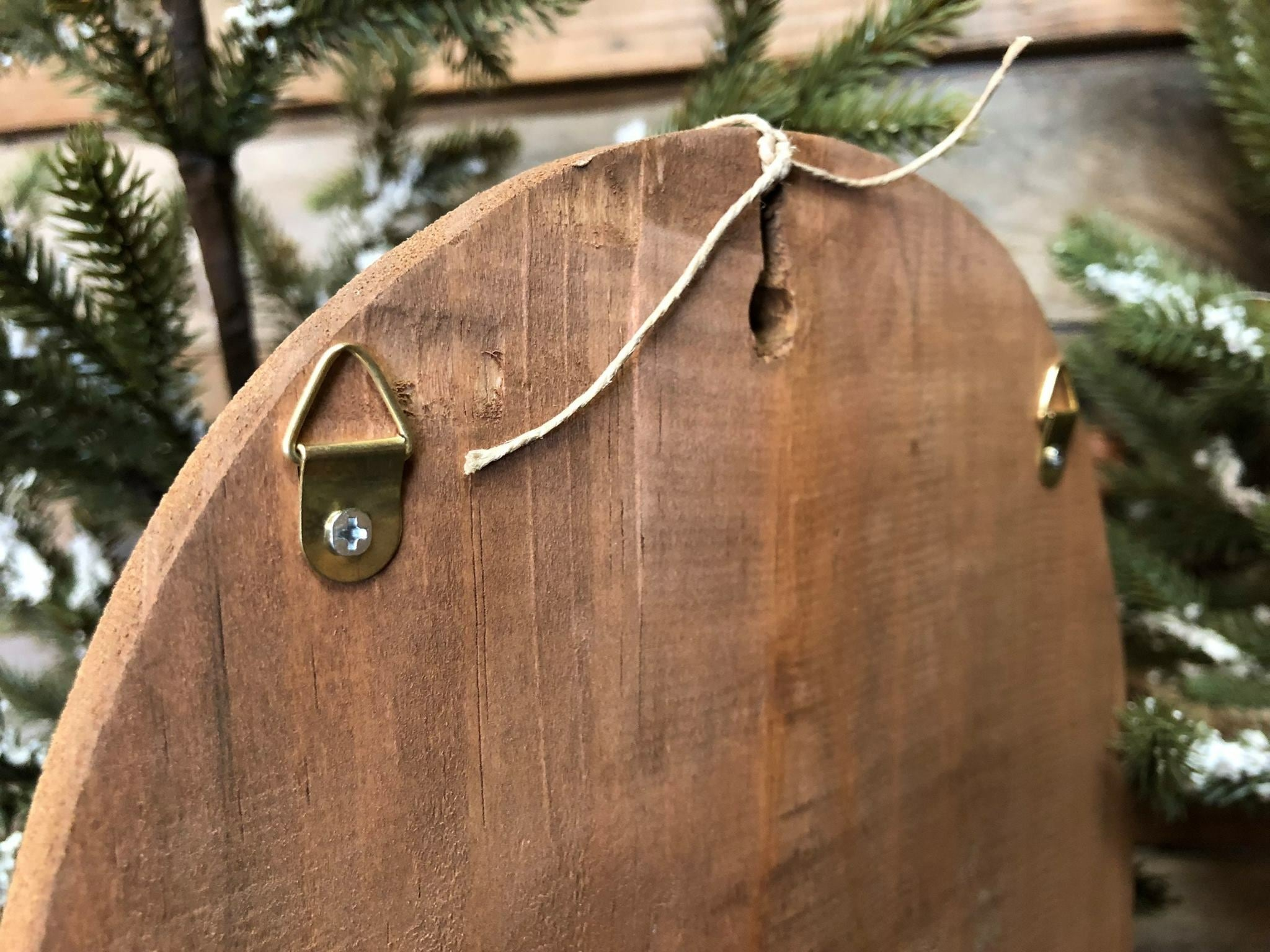 Wooden Christmas Catch-All