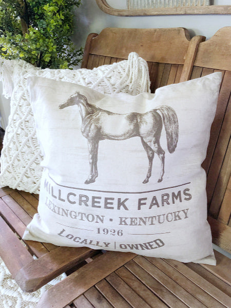 Millcreek Farm Pillow