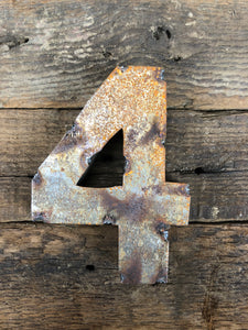 Rusty Metal Number 4