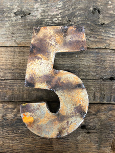 Rusty Metal Number 5