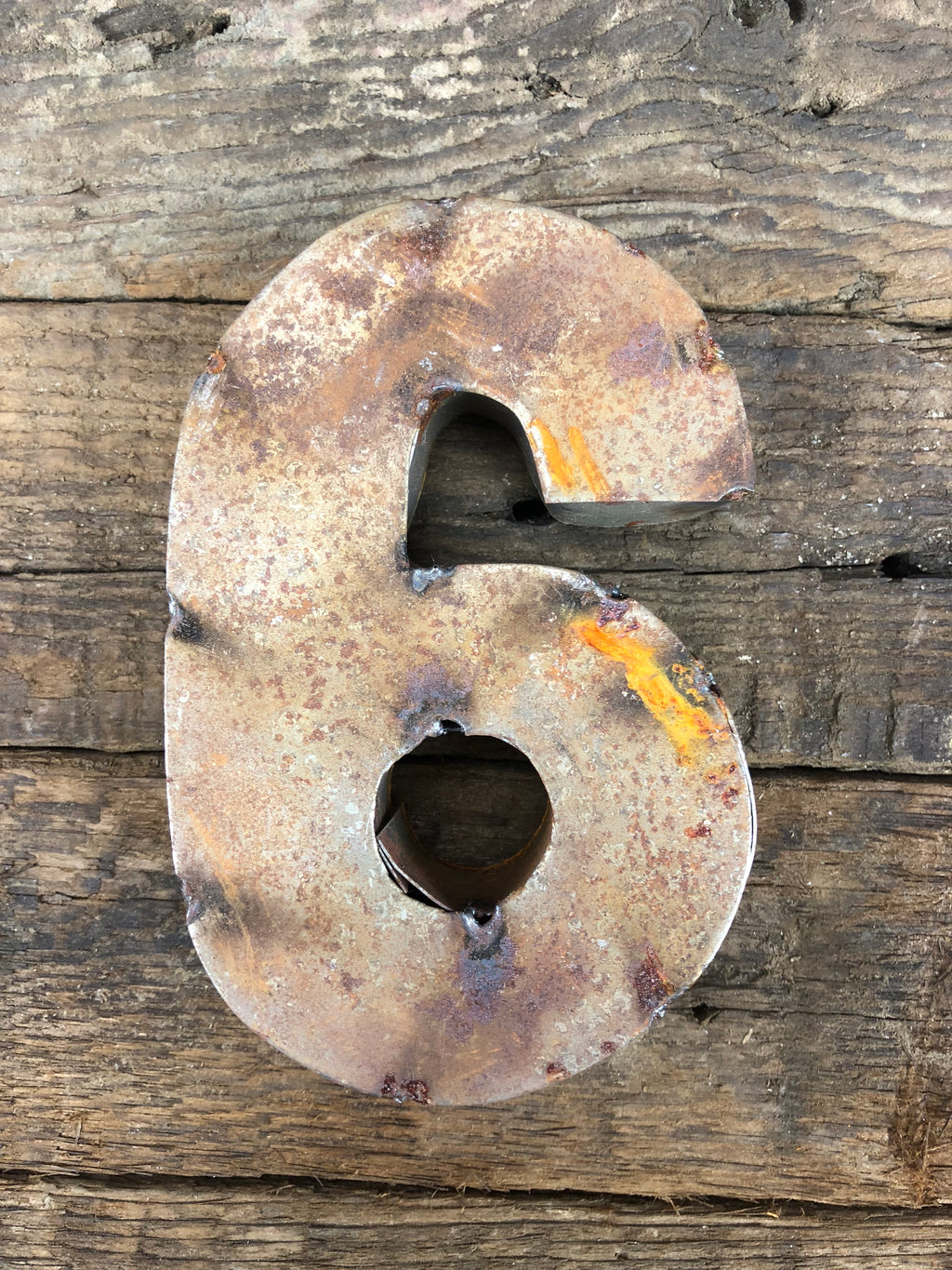 Rusty Metal Number 6