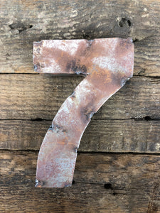 Rusty Metal Number 7