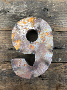 Rusty Metal Number 9