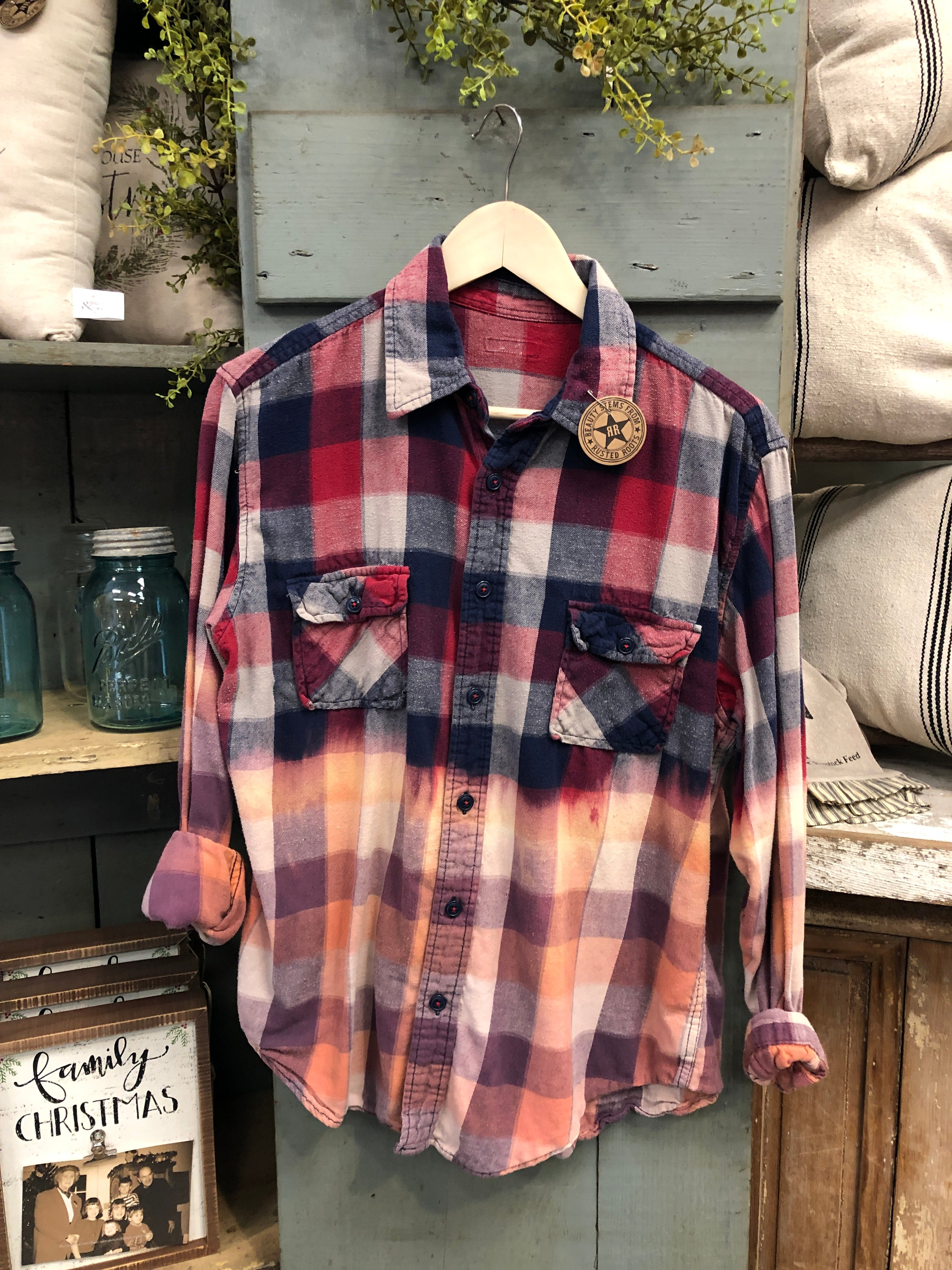 Farmhouse Flannel #26 (Large)