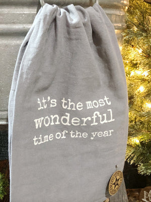 Most Wonderful Time of Year Tea Towel