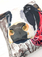 Farm Animal Pillow (Cow)