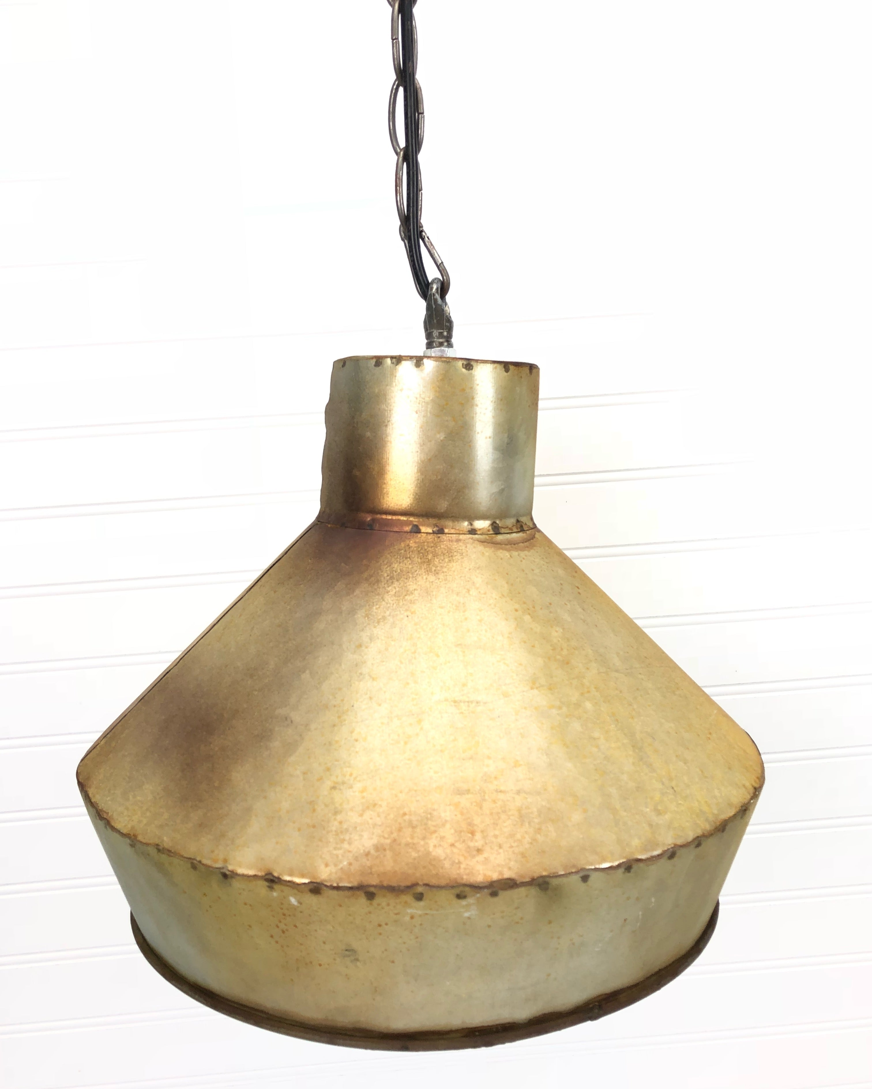 Industrial Galvanized Light