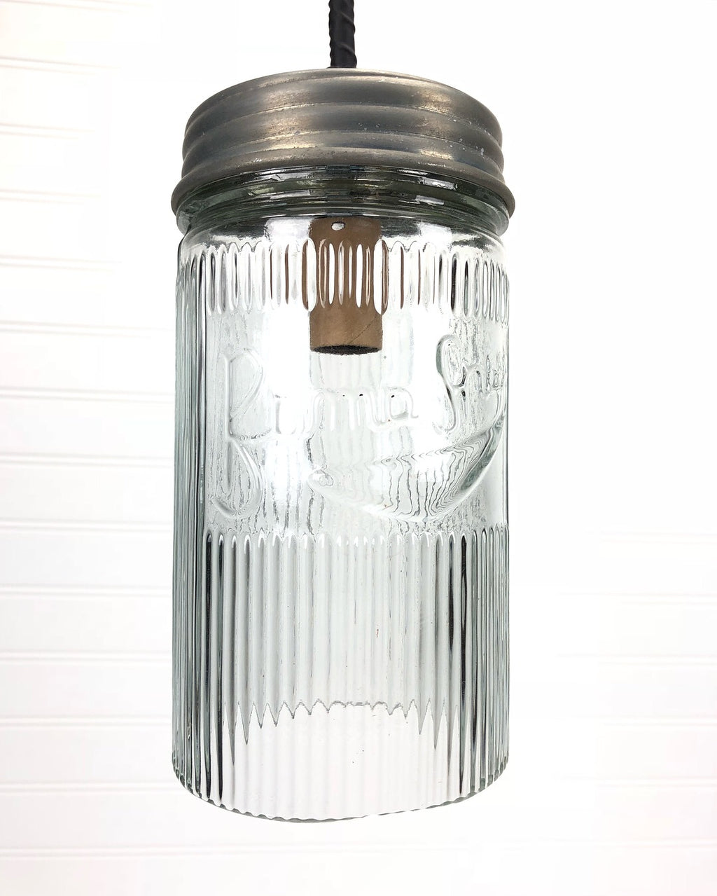 Mason Jar Pendant Light (Small)