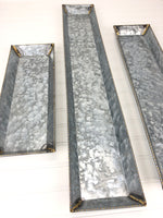 Galvanized Trays