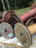 Antique Textile Spools