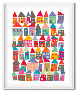 THE NEIGHBORHOOD IN COLOR | MIDCENTURY MODERN | POSTER | MIDCENTURY MODERN PALETTE - Kat Charles & Josephine