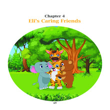 Jungle Friends: 5-Minute Stories about Friendship, Kindness and Sharing. Hardcover Children Illustrated Book - Laura Baby and Company