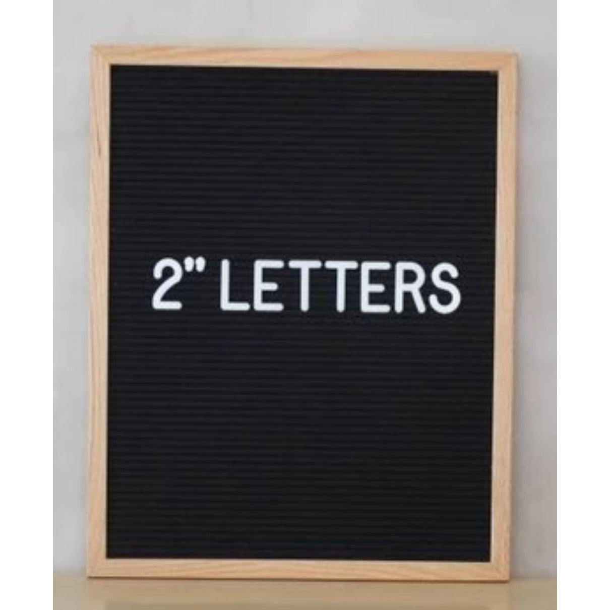 Felt Letter Board Letters - 2"