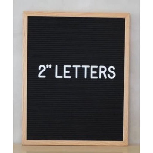 SALE Felt Letter Board Letters - 2"
